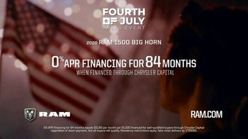 Ram Trucks Fourth of July Sales Event TV Spot, 'Miles to Make Up' [T2] - Thumbnail 8
