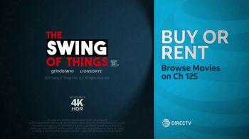 DIRECTV Cinema TV Spot, 'The Swing of Things' - Thumbnail 10