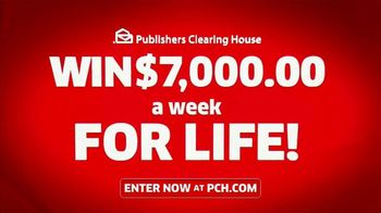 Publishers Clearing House TV Spot, 'Headed Your Way: $7,000 a Week for Life' Feat Terry Bradshaw