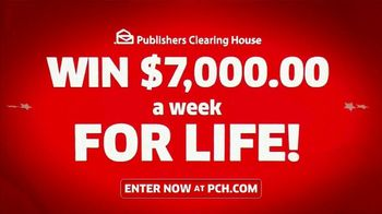 Publishers Clearing House TV Spot, 'Headed Your Way: $7,000 a Week for Life' Feat Terry Bradshaw - Thumbnail 7