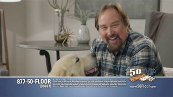 50 Floor Free Installation Sale TV Spot, 'Pet-Friendly Products' Featuring Richard Karn