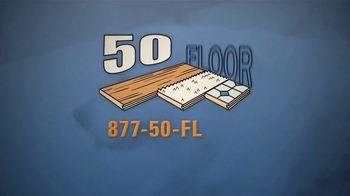 50 Floor Free Installation Sale TV Spot, 'Pet-Friendly Products' Featuring Richard Karn - Thumbnail 6