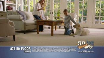 50 Floor Free Installation Sale TV Spot, 'Pet-Friendly Products' Featuring Richard Karn - Thumbnail 3