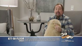 50 Floor Free Installation Sale TV Spot, 'Pet-Friendly Products' Featuring Richard Karn - Thumbnail 4