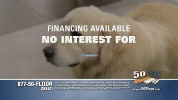 50 Floor Free Installation Sale TV Spot, 'Pet-Friendly Products' Featuring Richard Karn - Thumbnail 5