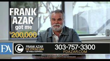 Franklin D. Azar & Associates, P.C. TV Spot, 'Work Injury' - Thumbnail 3