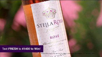 Stella Rosa Wines Rosé TV Spot, 'Real Taste Comes Naturally: Fresh'