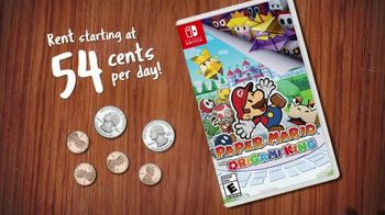 GameFly.com TV Spot, '54 & 77 Cents: Paper Mario'