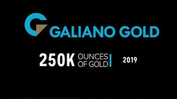 Galiano Gold TV Spot, '250 Thousand Ounces of Gold' - Thumbnail 2