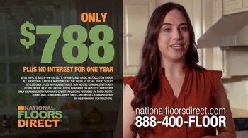 National Floors Direct TV Spot, 'Luxury Vinyl Flooring: $788'