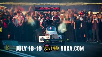 NHRA TV Spot, '2020 Lucas Oil Summernationals: Lucas Oil Raceway'