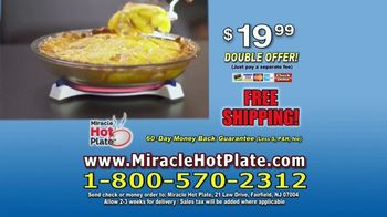 Miracle Hot Plate TV Spot, 'Keep Your Food Hot' - Thumbnail 10