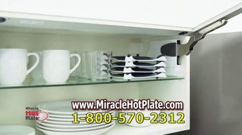 Miracle Hot Plate TV Spot, 'Keep Your Food Hot' - Thumbnail 7