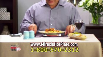 Miracle Hot Plate TV Spot, 'Keep Your Food Hot' - Thumbnail 8