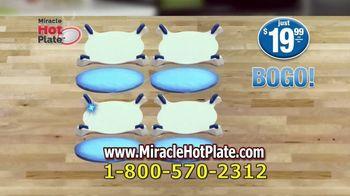 Miracle Hot Plate TV Spot, 'Keep Your Food Hot' - Thumbnail 9