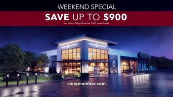 Sleep Number Weekend Special TV Spot, 'Adjust Your Comfort: Save up to $900' - Thumbnail 7