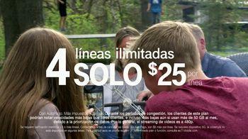 T-Mobile TV Spot, 'Cuatro líneas por $25 dólares' [Spanish] - Thumbnail 3