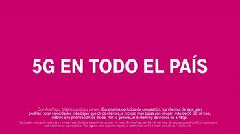 T-Mobile TV Spot, 'Cuatro líneas por $25 dólares' [Spanish] - Thumbnail 7