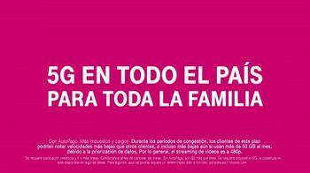 T-Mobile TV Spot, 'Cuatro líneas por $25 dólares' [Spanish] - Thumbnail 8