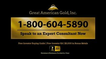Great American Gold, Inc. TV Spot, 'What Will Happen With the Next Crisis?' - Thumbnail 8