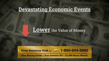 Great American Gold, Inc. TV Spot, 'What Will Happen With the Next Crisis?' - Thumbnail 4