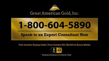 Great American Gold, Inc. TV Spot, 'What Will Happen With the Next Crisis?' - Thumbnail 5