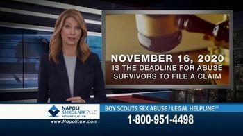 Napoli Shkolnik PLLC TV Spot, 'Boy Scouts Sex Abuse Legal Helpline' - Thumbnail 4