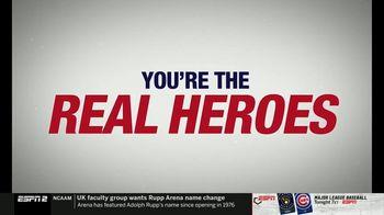 Major League Baseball TV Spot, 'Real Heroes' - Thumbnail 3