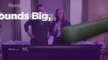 Roku TV Spot, 'Stream Big: Sound Bar' - Thumbnail 8