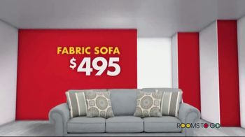 Rooms to Go Storewide Sofa Sale TV Spot, 'Big Savings: Sectionals' Song by Junior Senior - Thumbnail 4