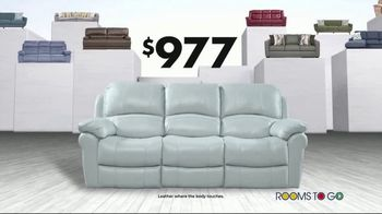 Rooms to Go Storewide Sofa Sale TV Spot, 'Big Savings: Sectionals' Song by Junior Senior - Thumbnail 6