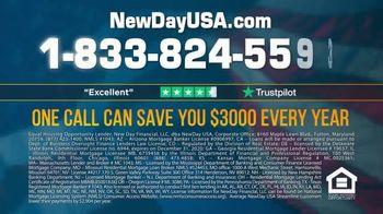 NewDay USA VA Streamline REFI TV Spot, 'Record Low Mortgage Rates' - Thumbnail 9