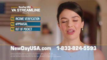 NewDay USA VA Streamline REFI TV Spot, 'Record Low Mortgage Rates' - Thumbnail 7