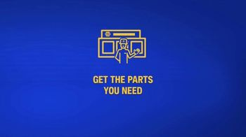 NAPA Auto Parts TV Spot, 'Quality Parts Delivered Quickly & Safely' - Thumbnail 1