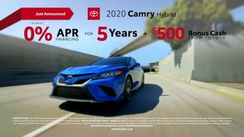 2020 Toyota Camry TV Spot, 'You Look Awfully Good: City Drive' [T2] - Thumbnail 7