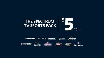 Spectrum TV Sports Pack TV Spot, 'Pretend' - Thumbnail 8