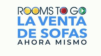 Rooms to Go Venta de Sofás TV Spot, 'Ahora mismo' canción de Junior Senior [Spanish] - Thumbnail 1