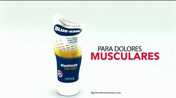 Blue-Emu Maximum Pain Relief TV Spot, 'Dolores musculares' [Spanish] - Thumbnail 2