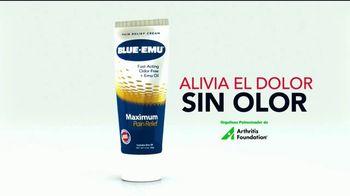 Blue-Emu Maximum Pain Relief TV Spot, 'Dolores musculares' [Spanish]