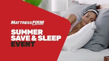 Mattress Firm Summer Save & Sleep Event TV Spot, 'Free Adjustable Base'