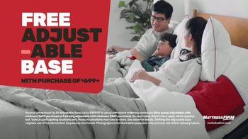 Mattress Firm Summer Save & Sleep Event TV Spot, 'Free Adjustable Base' - Thumbnail 4