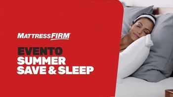 Mattress Firm Evento Summer Save & Sleep TV Spot, 'Ahorra en las mejores marcas' [Spanish] - Thumbnail 2