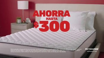 Mattress Firm Evento Summer Save & Sleep TV Spot, 'Ahorra en las mejores marcas' [Spanish] - Thumbnail 3