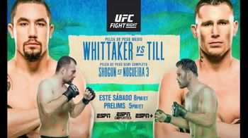 ESPN+ TV Spot, 'UFC Fight Night: Whitaker vs. Till' canción de Vince Staples [Spanish] - 104 commercial airings