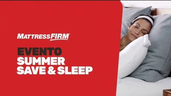 Mattress Firm Evento Summer Save & Sleep TV Spot, 'Ahorra en colchones selectos' [Spanish] - Thumbnail 1