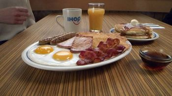 IHOP Ultimate BreakFEASTS TV Spot, 'Except for Bears: Free Delivery & 20% Off' - Thumbnail 1