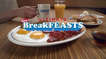 IHOP Ultimate BreakFEASTS TV Spot, 'Except for Bears: Free Delivery & 20% Off' - Thumbnail 2
