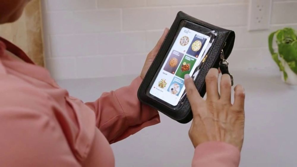- Touch Screen Purse Tv Commercial   U0026 39 Incredible New Way U0026 39  Ft  Lori Greiner