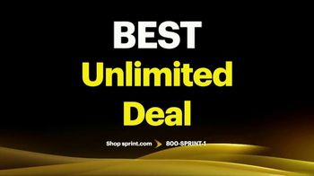 Sprint Best Unlimited Deal TV Spot, 'Saving Money: Four Lines and Four iPhone 11s' - Thumbnail 2