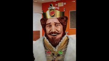 Burger King 3 for $3 TV Spot, 'Facetime King: BLT Chicken Jr.' - Thumbnail 1